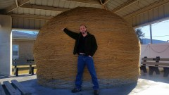 That's a big ball of twine!
